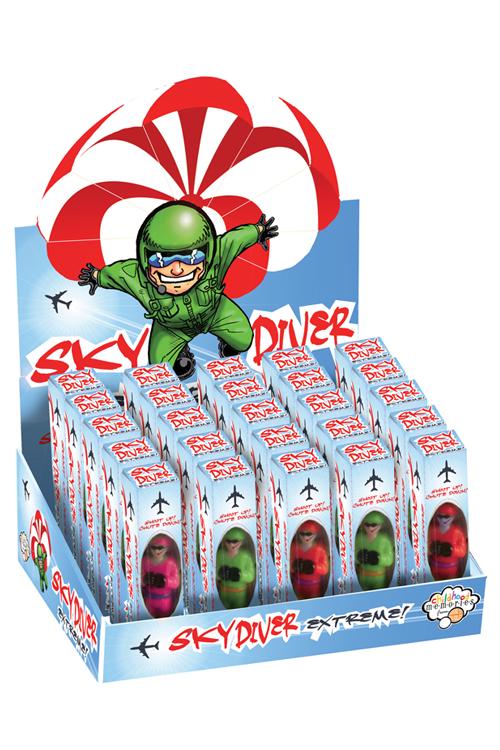 Sky Diver parachute figures