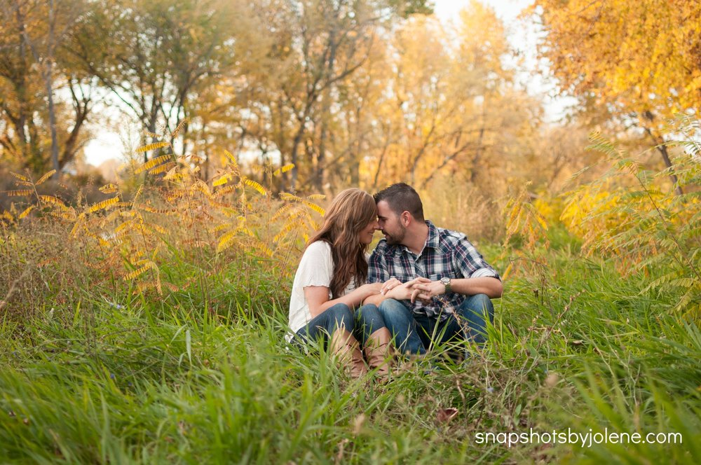 eagle idaho engagement session