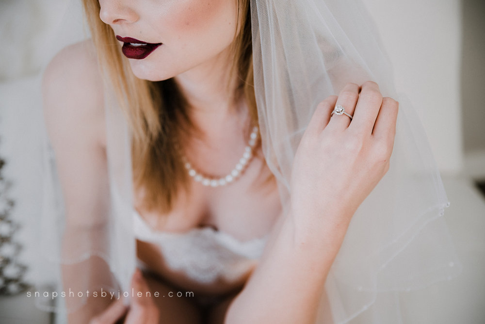 boise boudoir bride