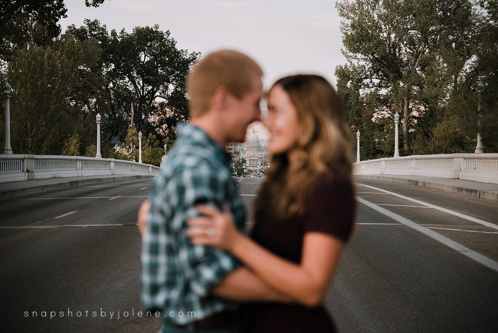 boise engagement session