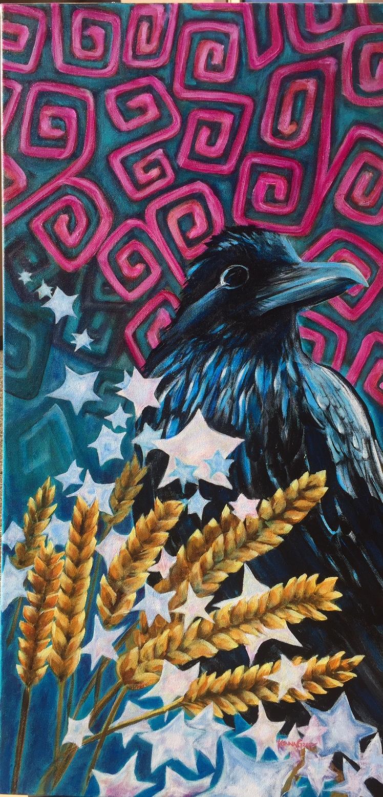 Ravens Starry Night