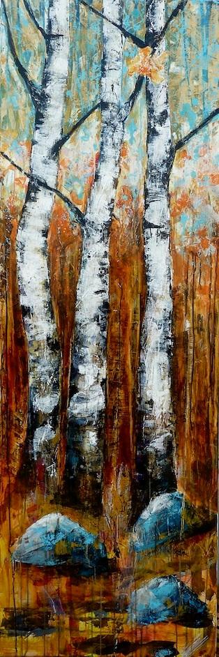 Shimmering Birch