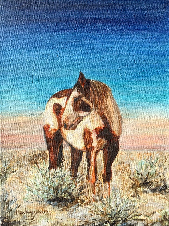 Wild Paint Pony