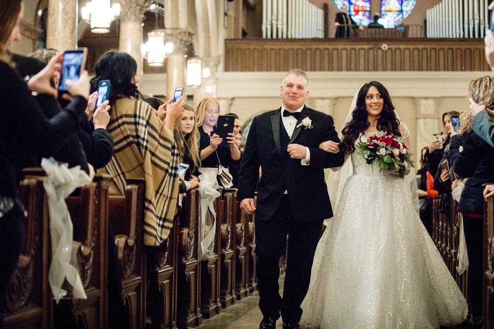bride, father