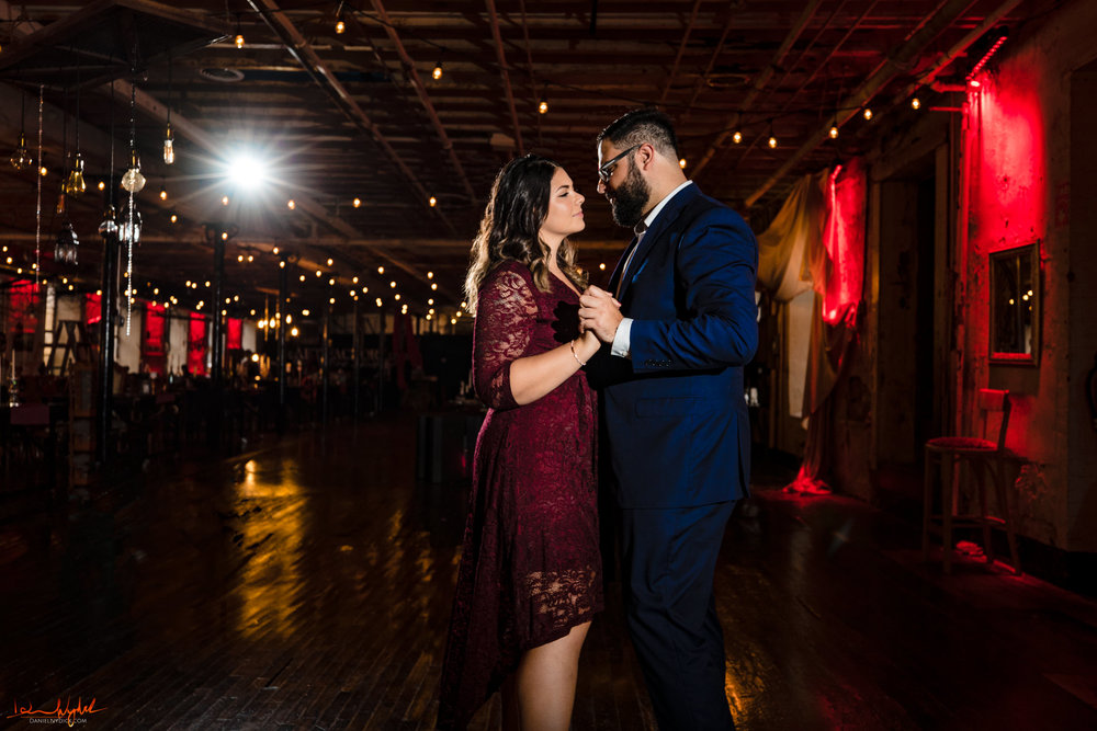 Art Factory Wedding Engagment