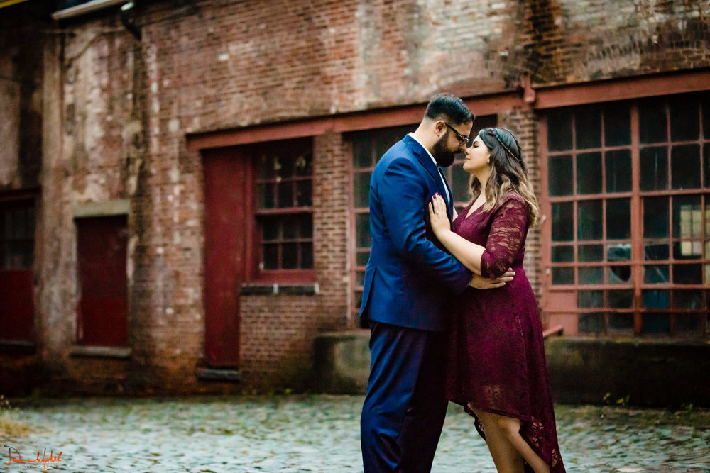 kiss, dance, spin, engagement photography, new jersey
