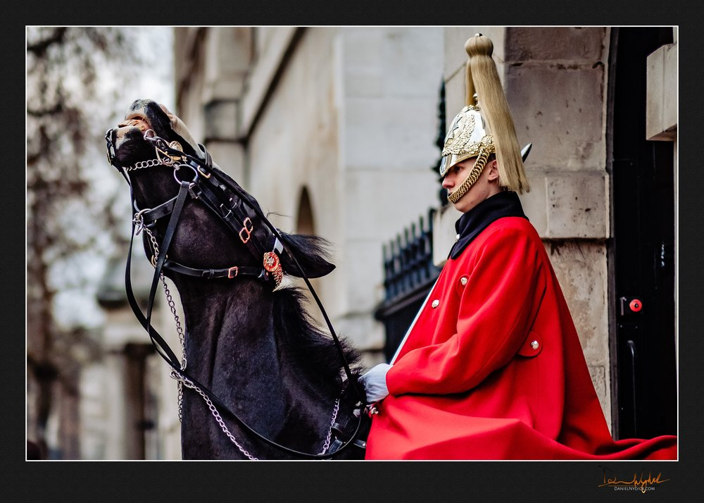 cavalry museum whitehall horse guard, household