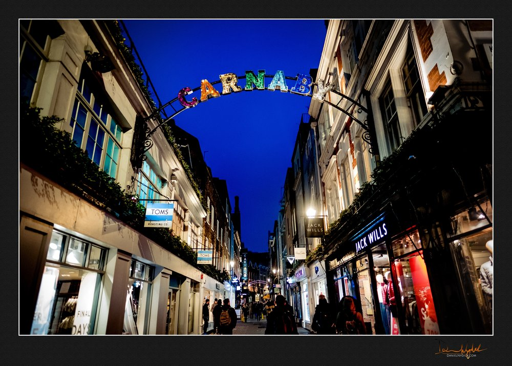 carnaby shopping district