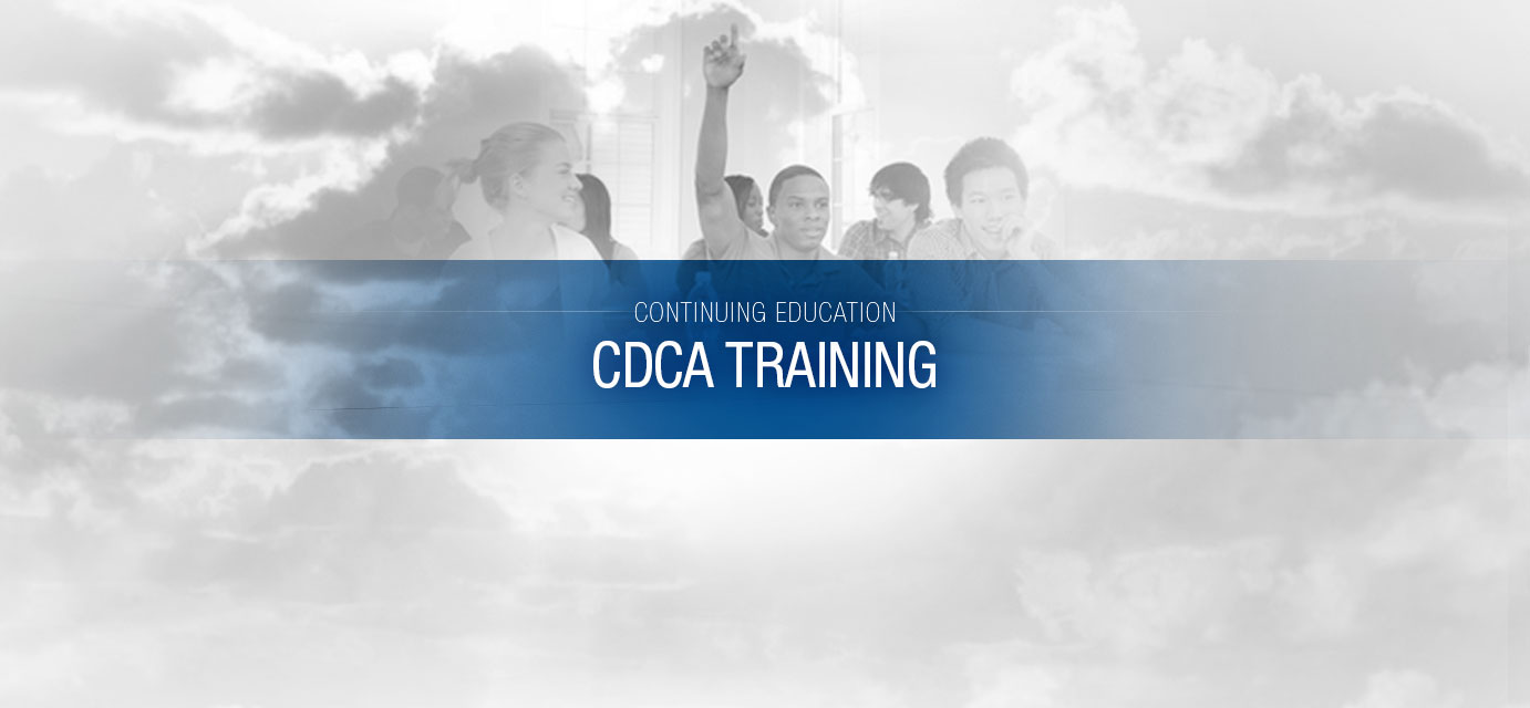 Cdca Training Moore Counseling Mediation Services Inc