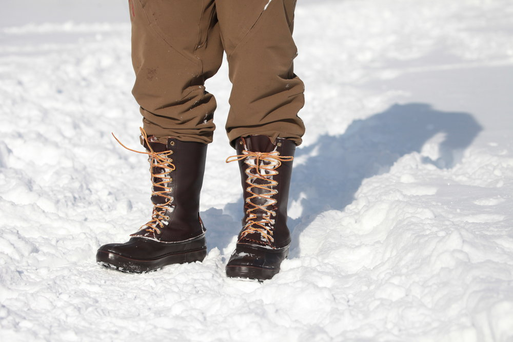 Testing Out the Hunter II's on a frigid Bozeman afternoon. Feet were warm and dry.
