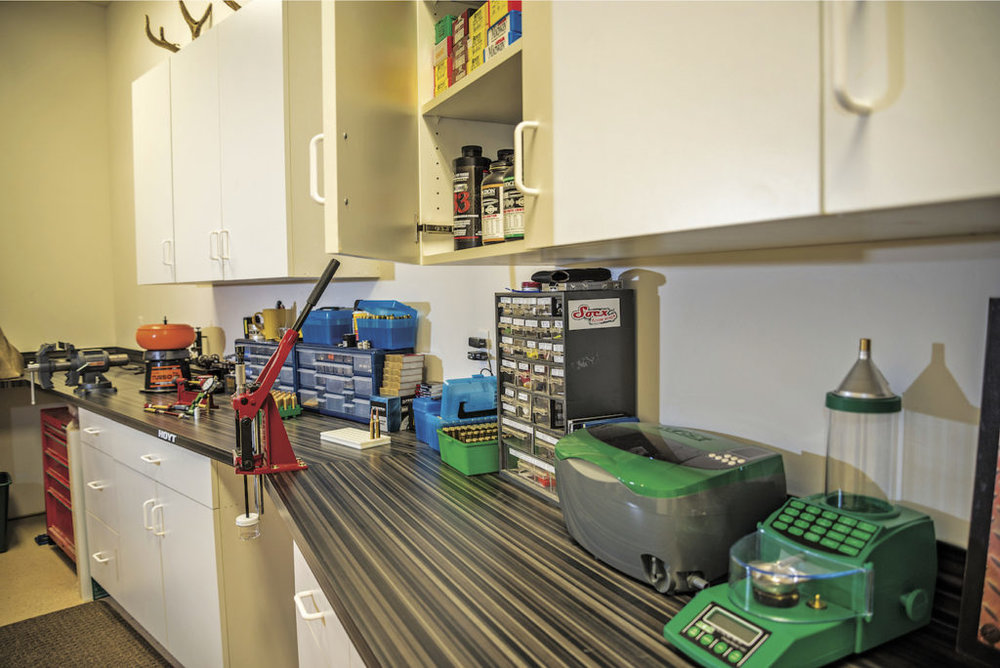 At first glance, a well-equipped loading bench looks like a high-tech laboratory, but the experiments are a lot more fun!
