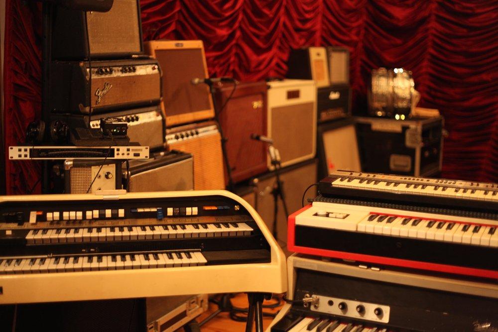 Velveteen Laboratory_Keys and Amp Wall.jpg
