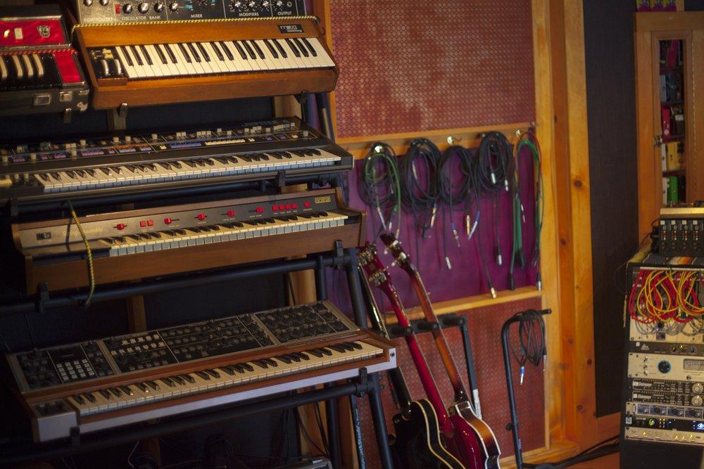 Velveteen Laboratory_control room synths.jpg