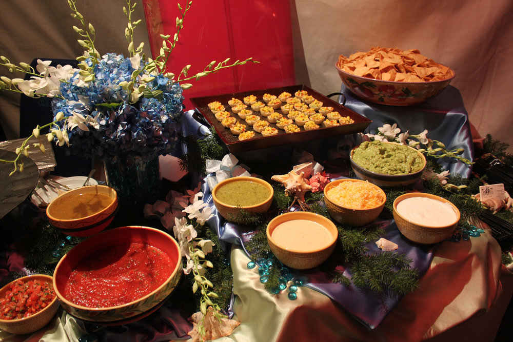 Fiesta Table Display