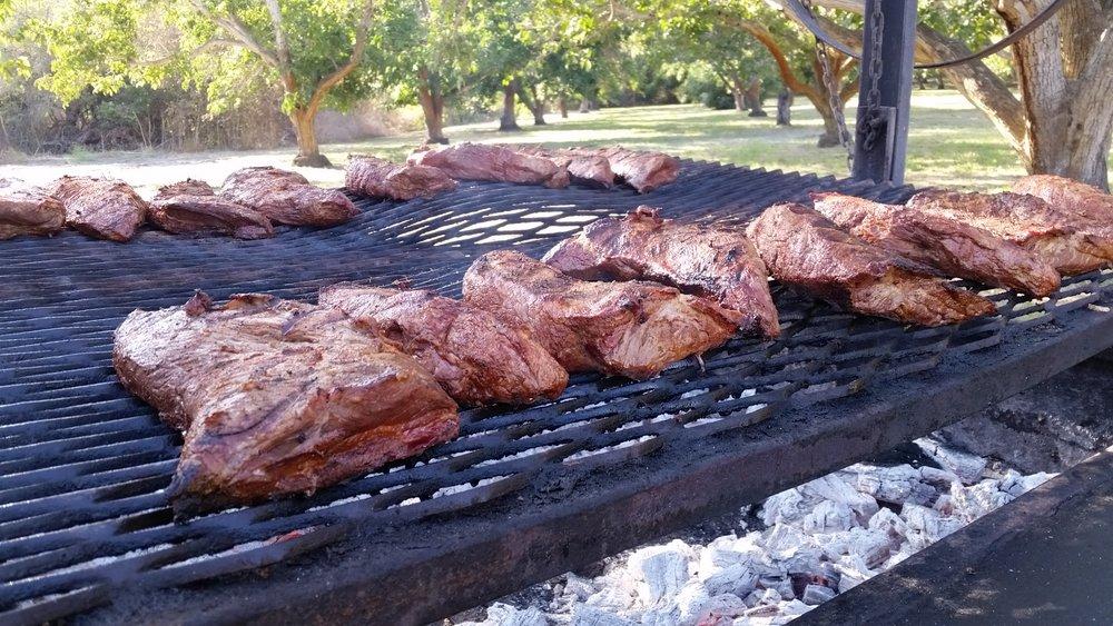 Blazin BBQ Menu