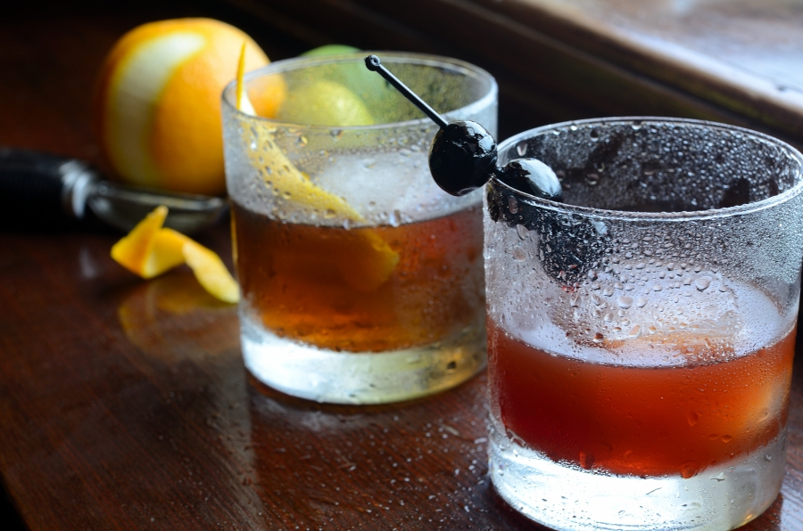 Old-Fashioned Cocktails