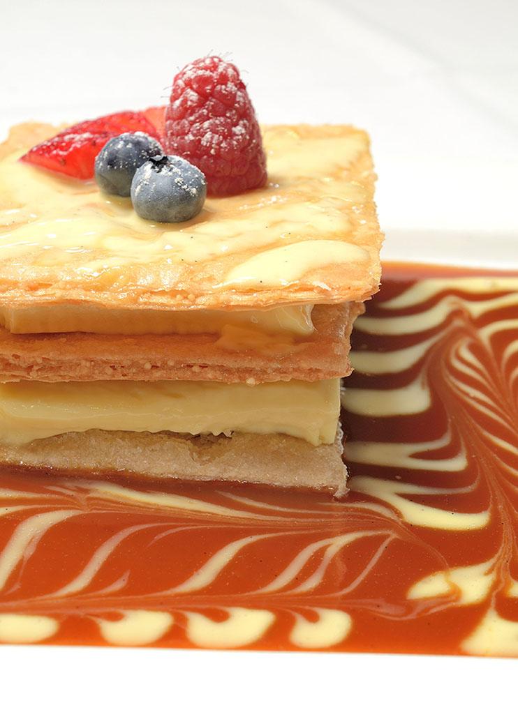 crème brûlée napoleon