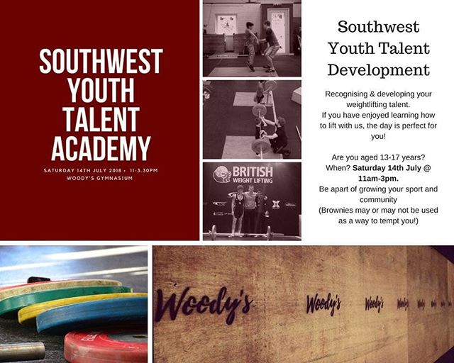 We'll be hosting the South West regional development squad this weekend for youth lifters. Great step forward for lifting in the area. If the last one is anything to go at @wildboarweightlifting it'll be a great atmosphere with a bunch of fired up, up and coming lifters #youthlifting #woodysgym #herefordshire #britishweightlifting #ledbury