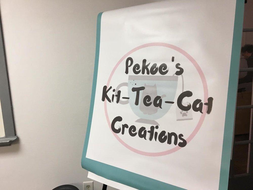 Pekoe's Kit-Tea-Cat Creations Banner