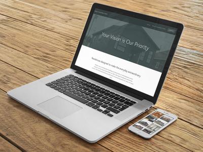 Wolf Construction Website