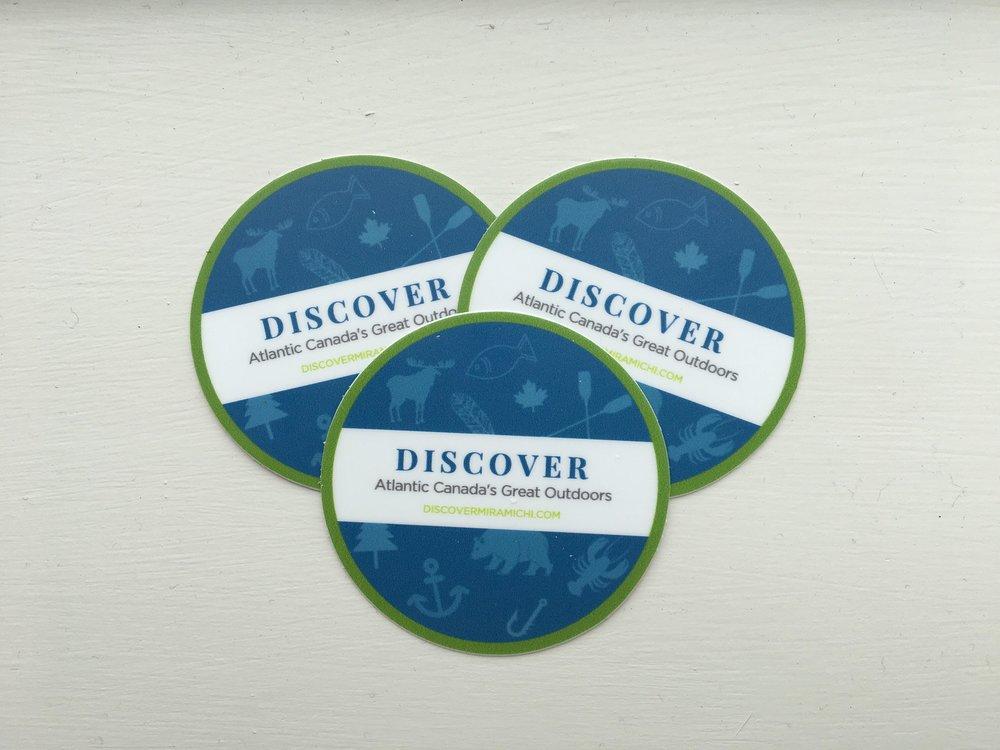 discover miramichi stickers