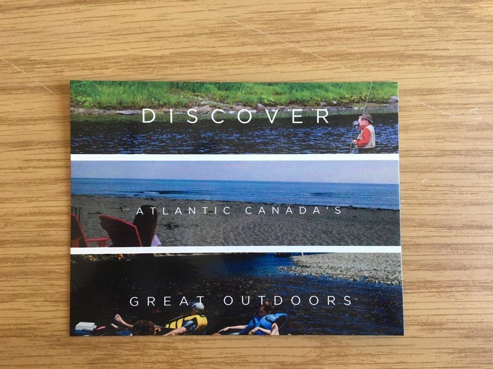 discover miramichi postcards front