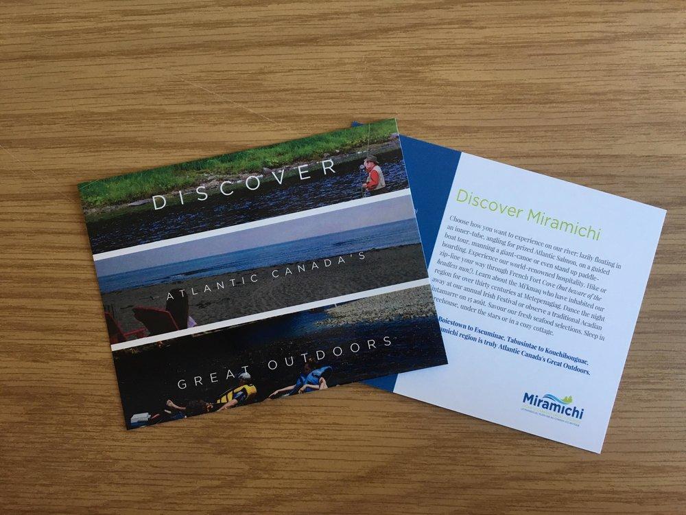 Discover Miramichi postcard