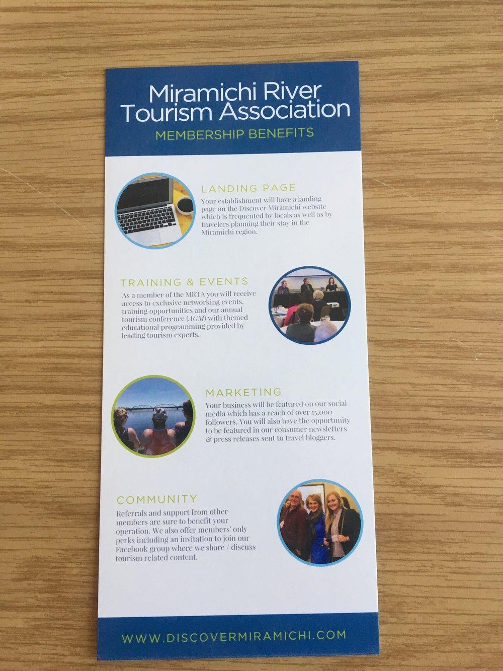 Miramichi River Tourism Association Brochures
