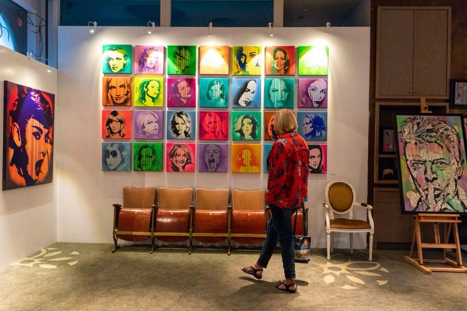 Wall of Dames at Expo Brasschaat Photo by Frederick Van Grootel