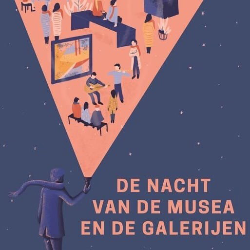 Nacht van de Musea en de Galerijen 16 feb. 2019. Ostend. Belgium