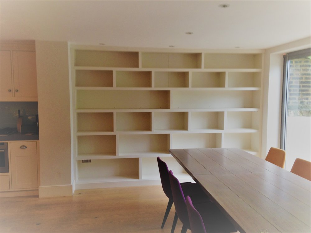 J.C.A Joinery Carpentry Alcoves-Bespoke Interior Furniture