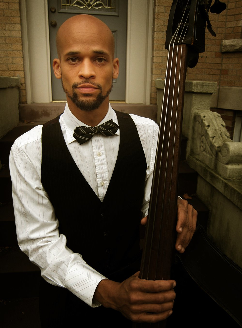 Composer and multi-instrumentalist Gregory Richardson(bass) was born in Tucson, AZ and learned Rhythm and Blues at an early age from a family of church musicians where everyone could play at least a little piano and everyone was expected to sing. He went on to study music at Bard College and settled finally in New York City where he has been living and creating ever since. Richardson tours around the world with the band Darwin Deez and gigs around New York with the trio Analogue Experimentaland with Damian Quinones y su Conjunto, playing Son, Salsa, Jazz, Cumbia, and Boogaloo. In recent years he's found a second home with the tightly-knit New York City tap dance community, performing with SoundMovement Dance Company, The Institute for the Rhythmic Arts, and The American Tap Dance Foundation. He has composed and performed in several shows with Dorrance Dance, including Myelination,SOUNDspace,ETM:The Initial Approach, ETM: Double Downat the Jacob's Pillow festival, and Delta to Dusk.