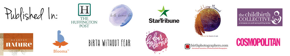 published in huffington post cosmopolitan birth without fear star tribune