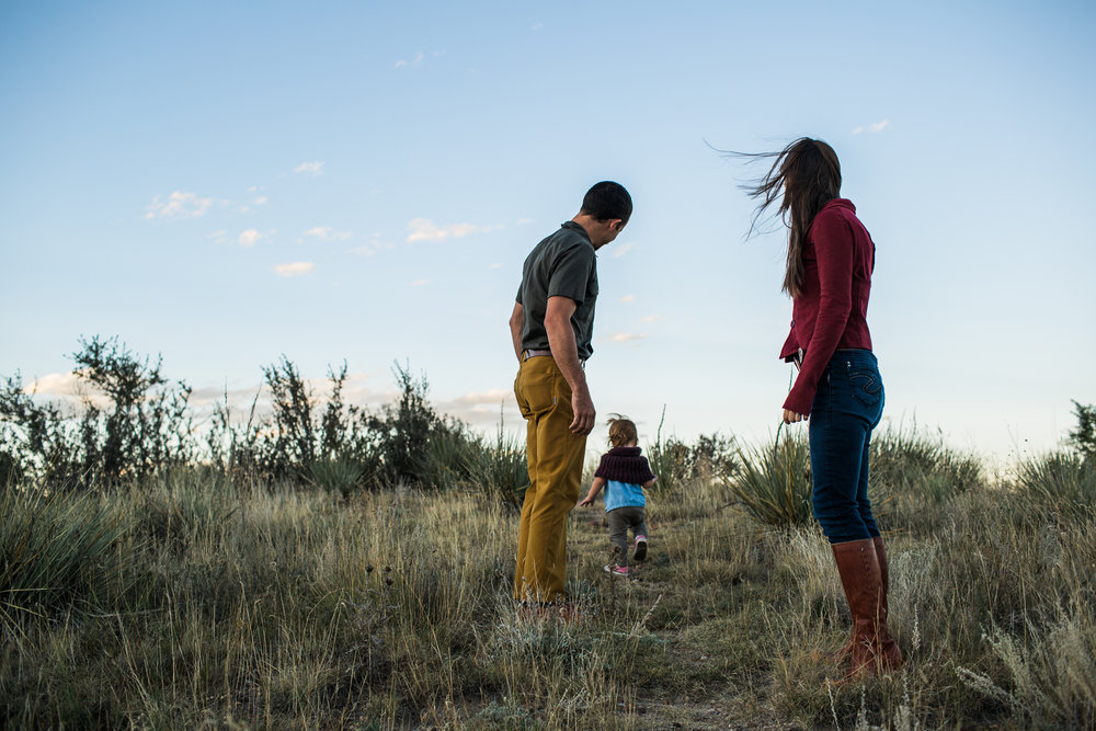 family adventure photography in colorado