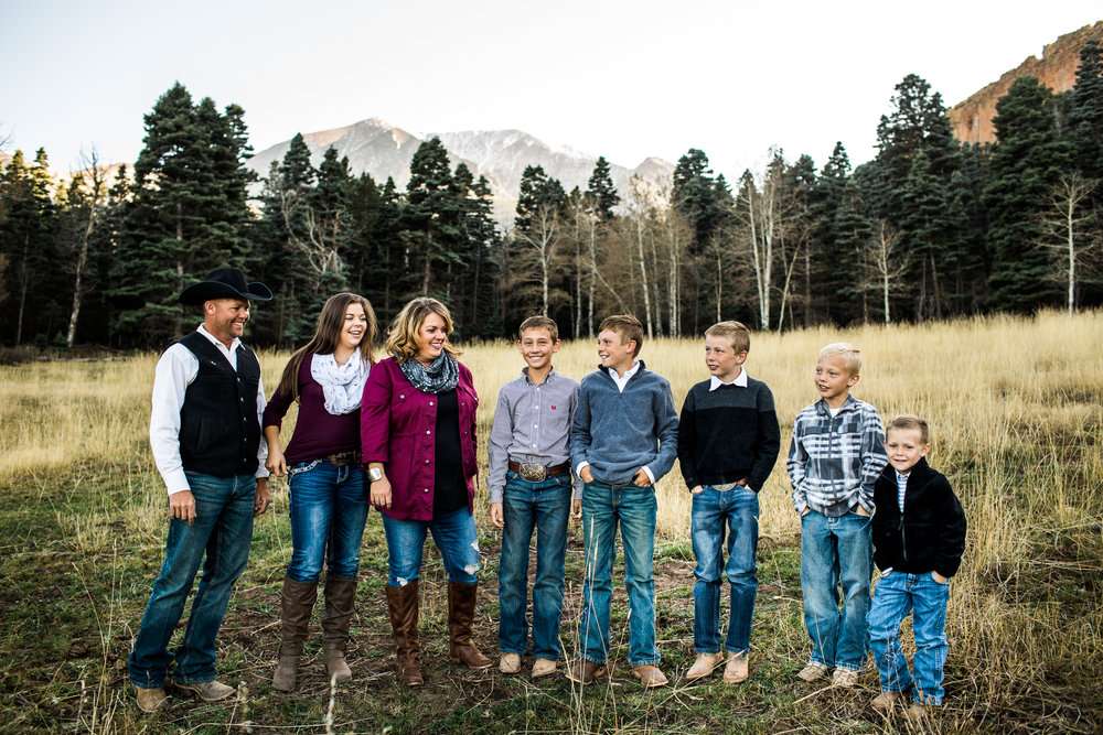 family photography in buena vista colorado