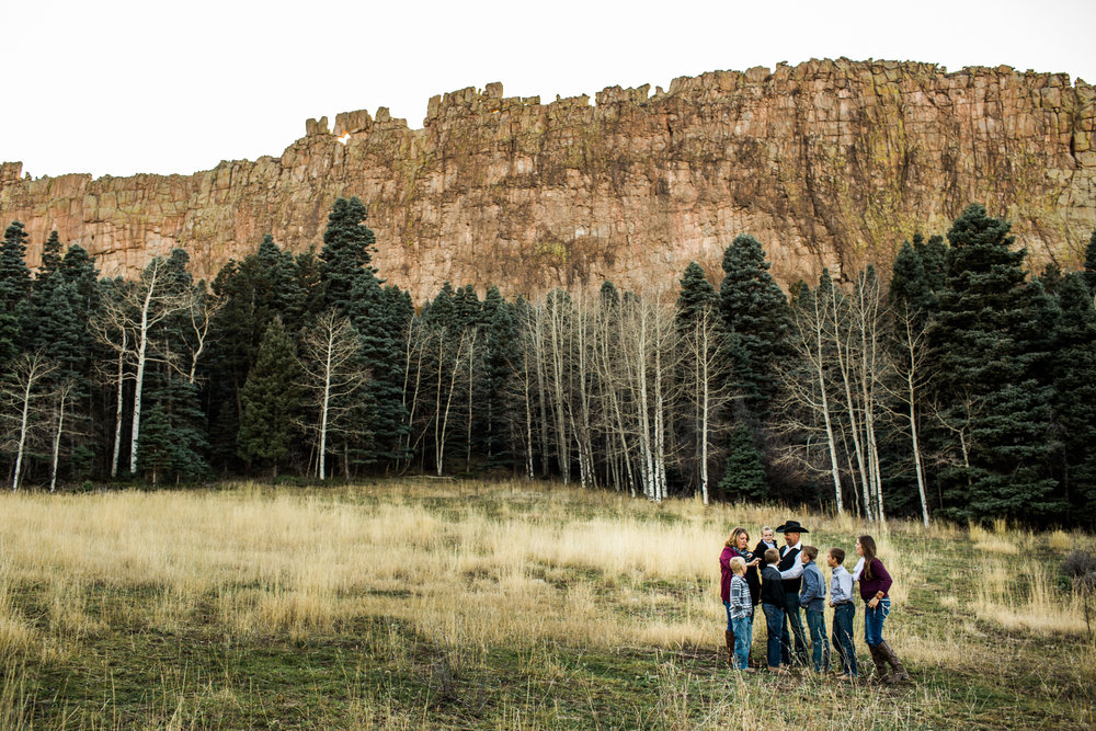 family photography in la veta colorado