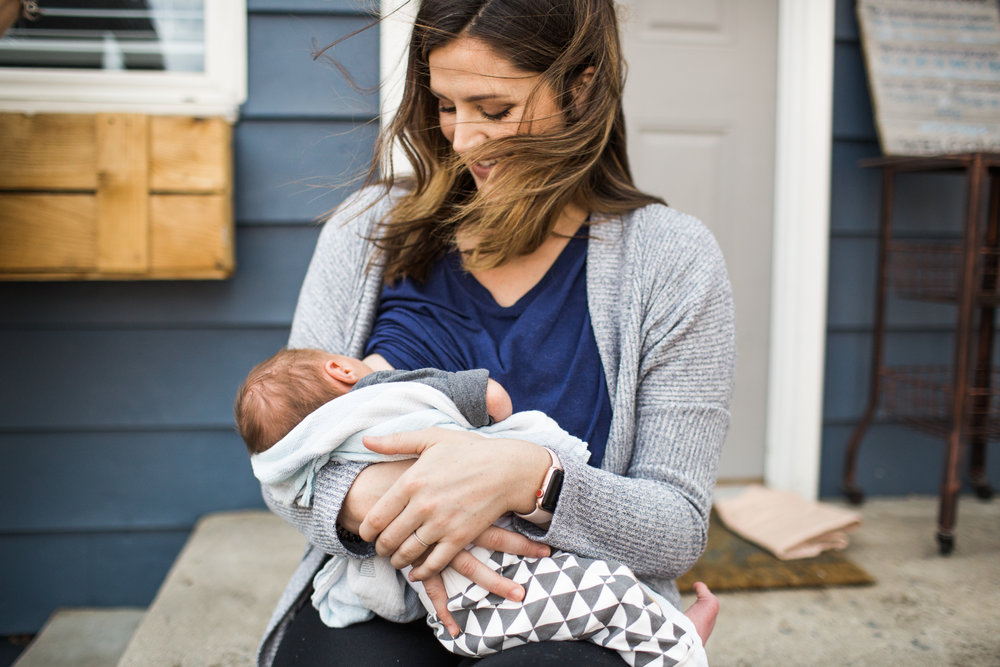 mother nursing baby breastfeeding photographer colorado springs