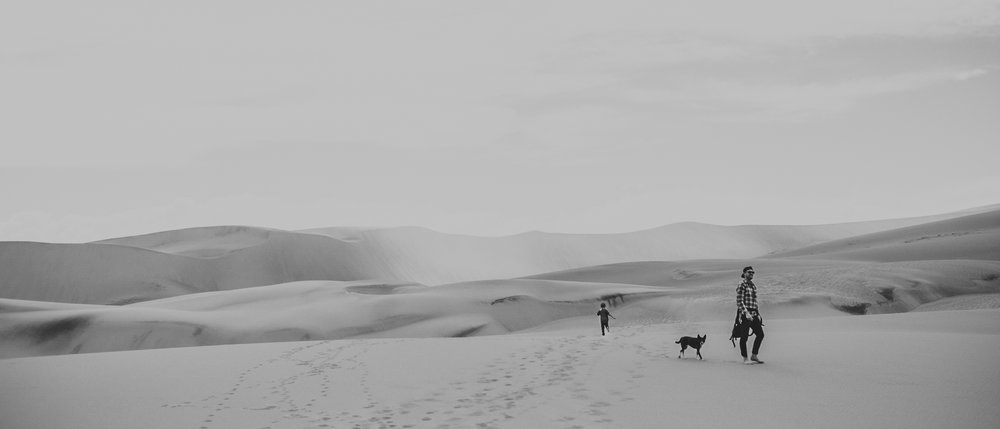 Great Sand Dunes National Park Family photography