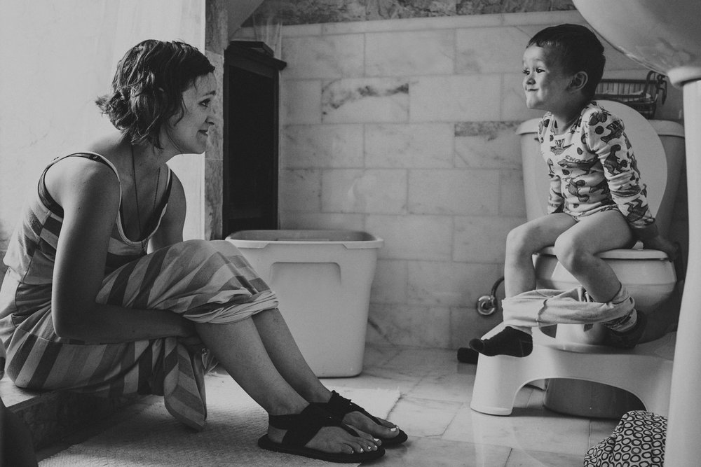 potty training at home