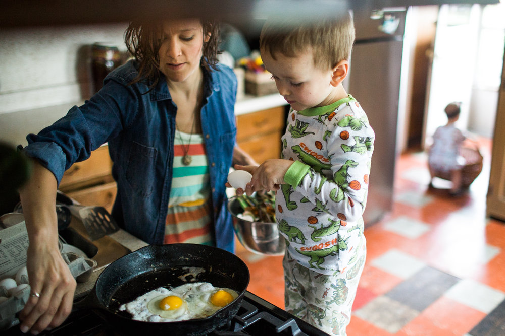 teach your four year old to cook