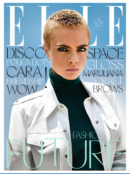 ELLE UK FASHION MAGAZINE