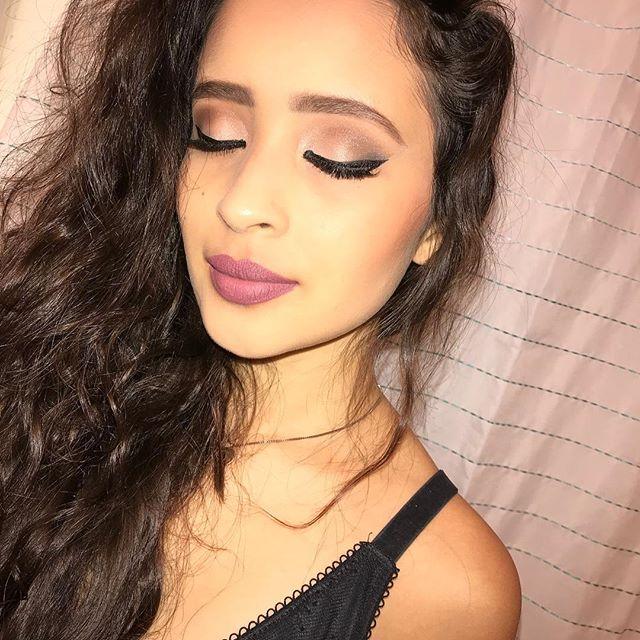 Gorgeous Lip Model @jissel_campa featuring Amore Vegan Liquid Lipstick