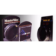 MONSTER CABLE WORLD LEADER IN A/V CABLES Patton Design creates the cable design, complete line of packaging, and POP displays.