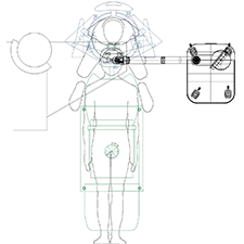 INTRALASE    OPERATING ROOM ERGONOMICS    Patient surgeon interface focusing on the eye.