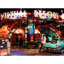 DISNEY + PANASONIC 10,000 SF OF DISNEY'S VIRTUAL RESORT Futuristic computer Interactivity in Disneyland's Tomorrowland.