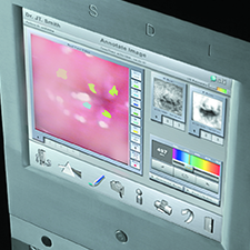 STI DIGITAL BIOPSY GUI and the product design in aesthetic harmony.