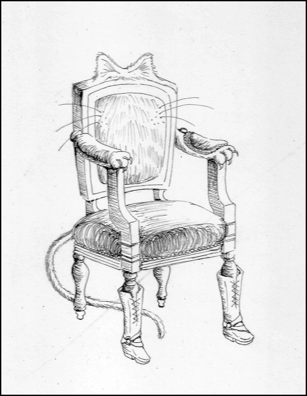 Puss-In-Boots Chair