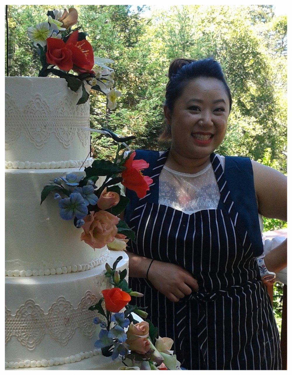 VICTORIA TECKEMEYER -OWNER & CAKE DESIGNER.
