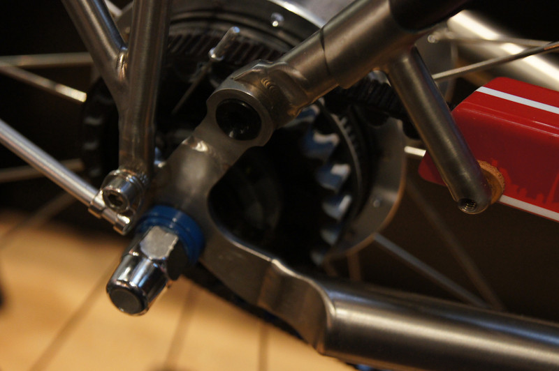 Rear hub on Berlin bike