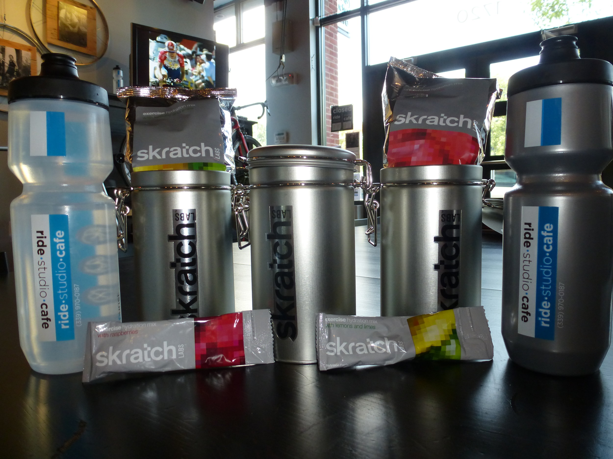 Skratch Labs & Water Bottles